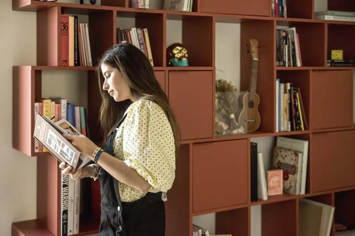 Tylko boekenkast van Natalia en Armando