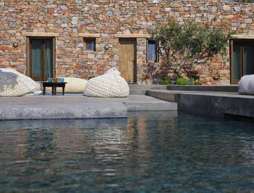 Vakantiehuis op Grieks eiland Gyros
