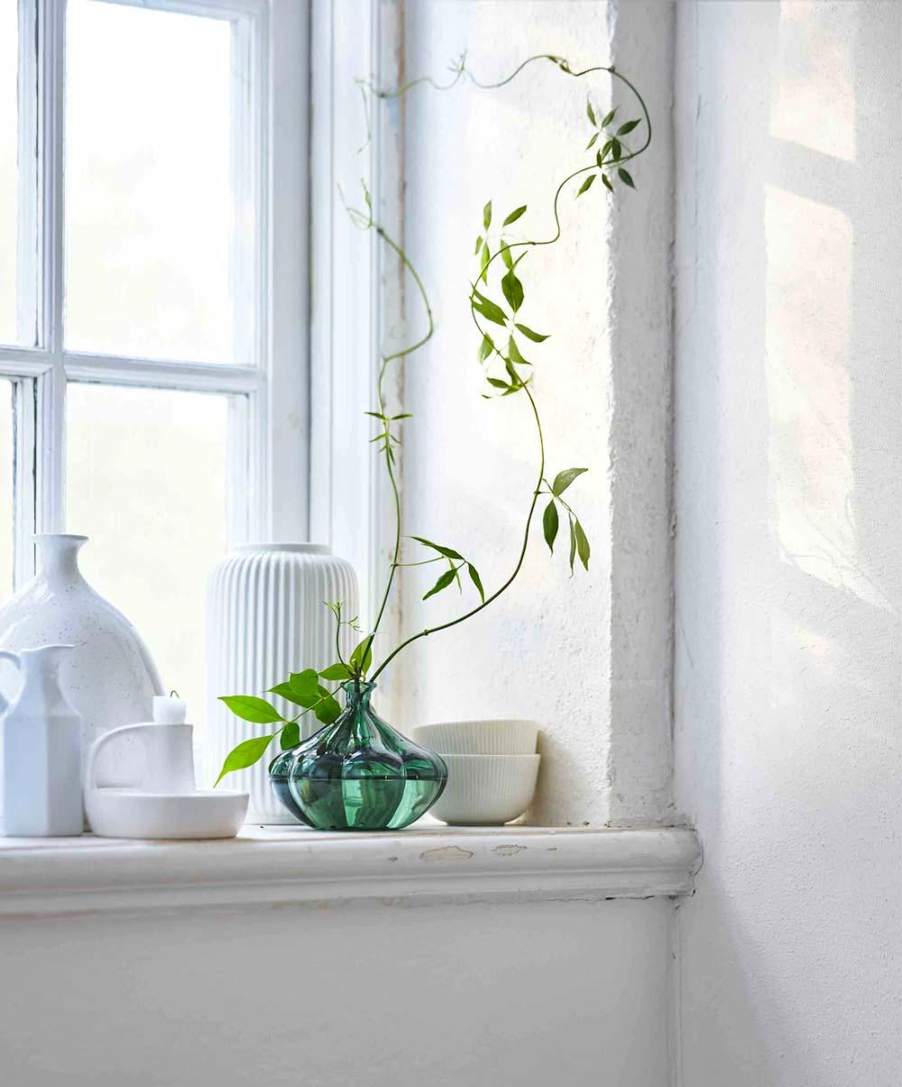 vensterbank decoratie keramiek