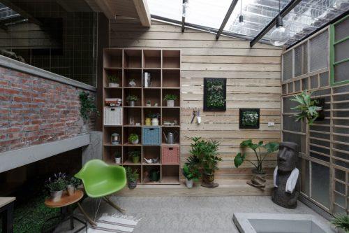 Verbouwing van een oude woning in Taiwan