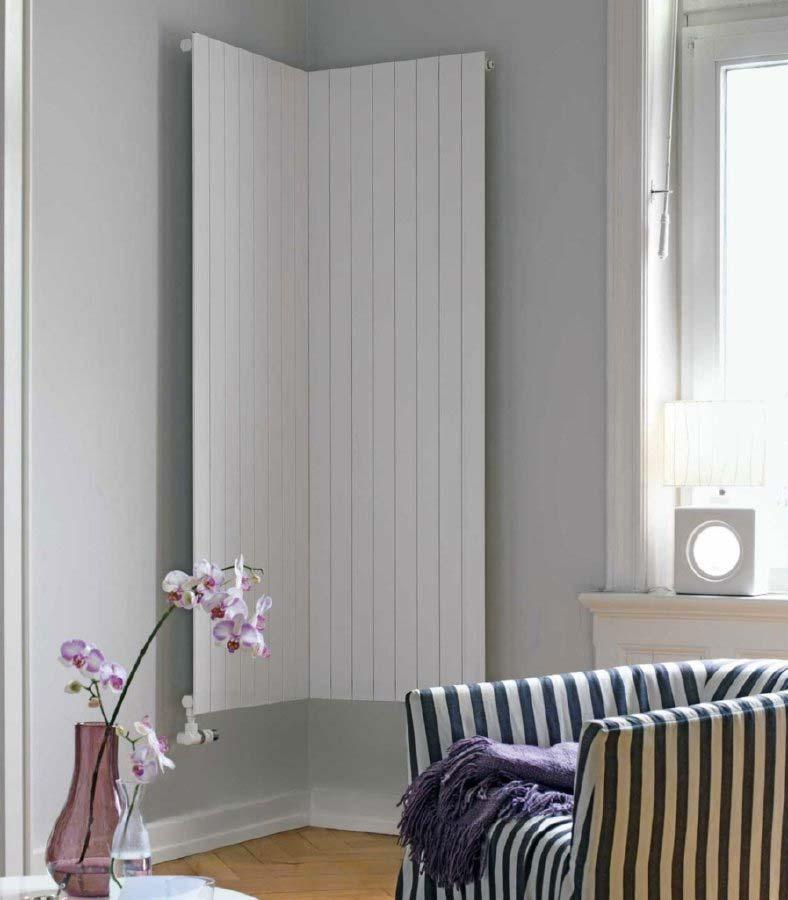 verticale radiator hoek