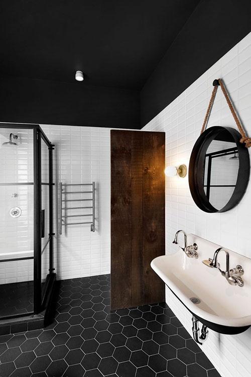 vintage badkamers voorbeelden retro