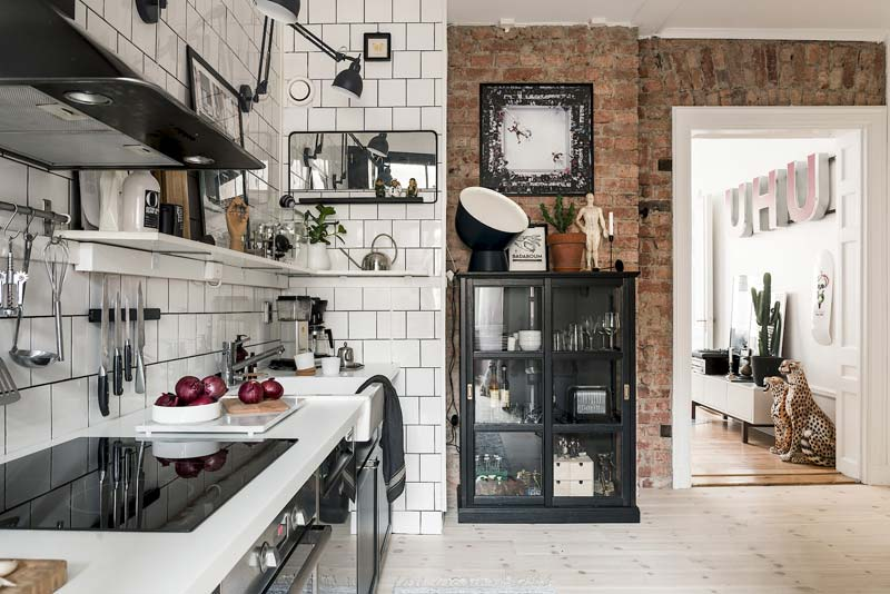 vintage moderne keuken