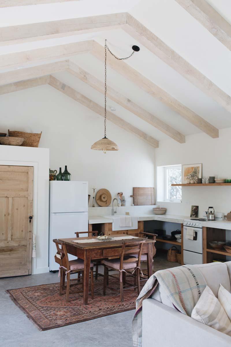 vintage vloerkleed keuken inspiratie