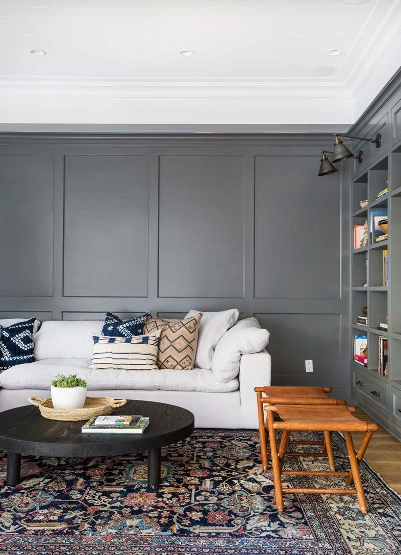 vintage vloerkleed woonkamer