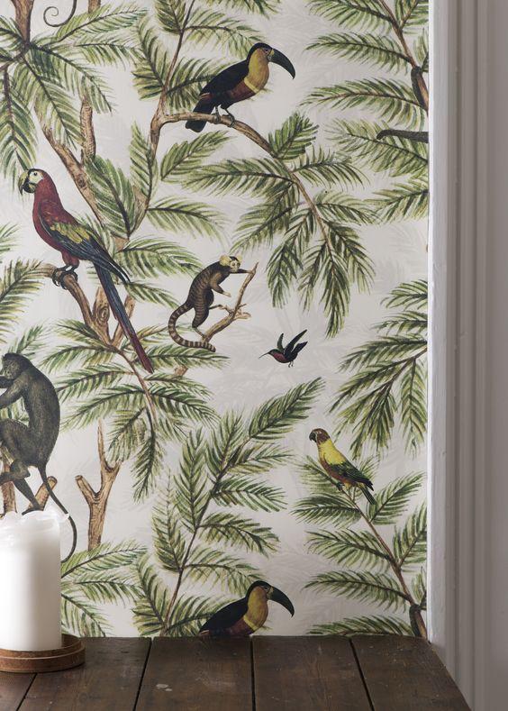 vogels-urban-jungle-behang