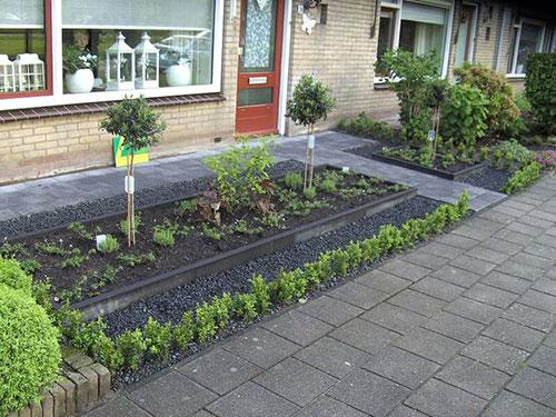 voortuin beplanting