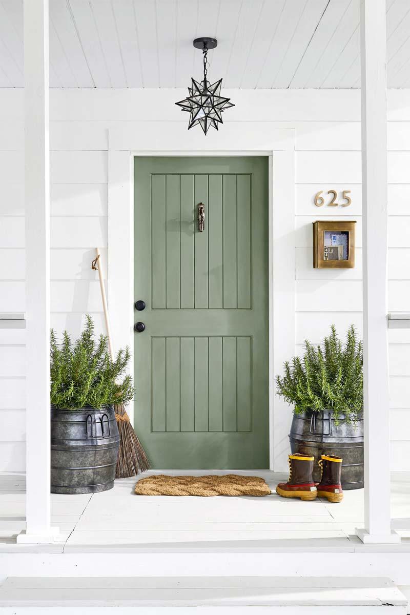 voortuin tips decoratie winter