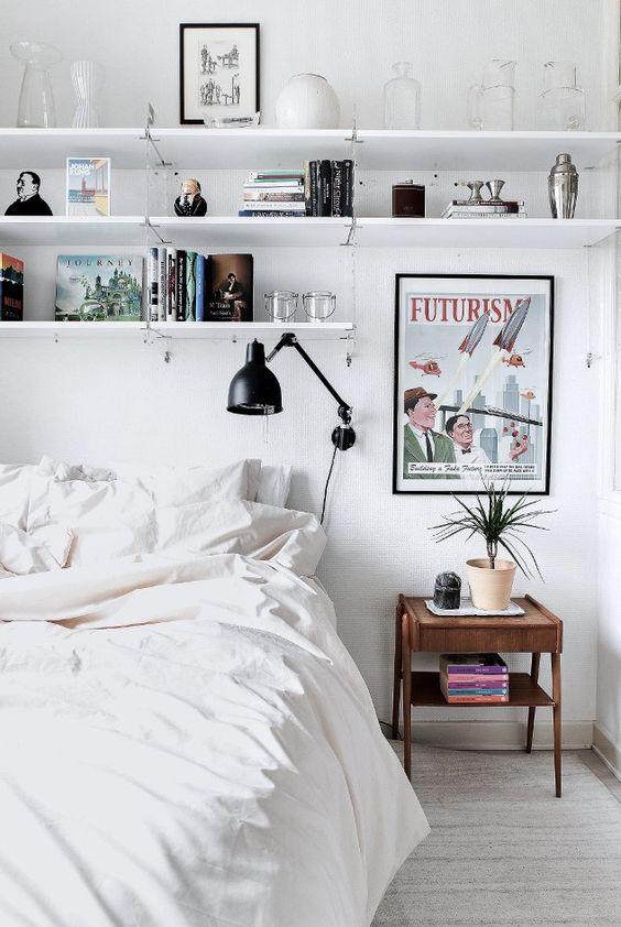 wandplanken  in slaapkamer