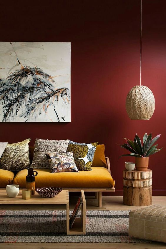 warme interieur kleuren