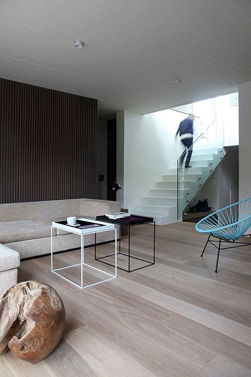 Warme vloer in woonkamer