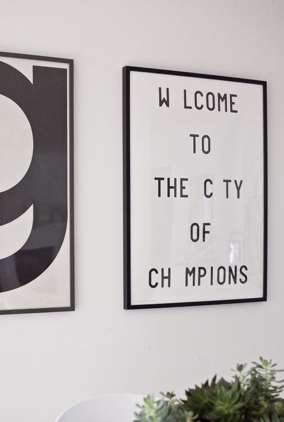 Welcome to the city of the champions poster