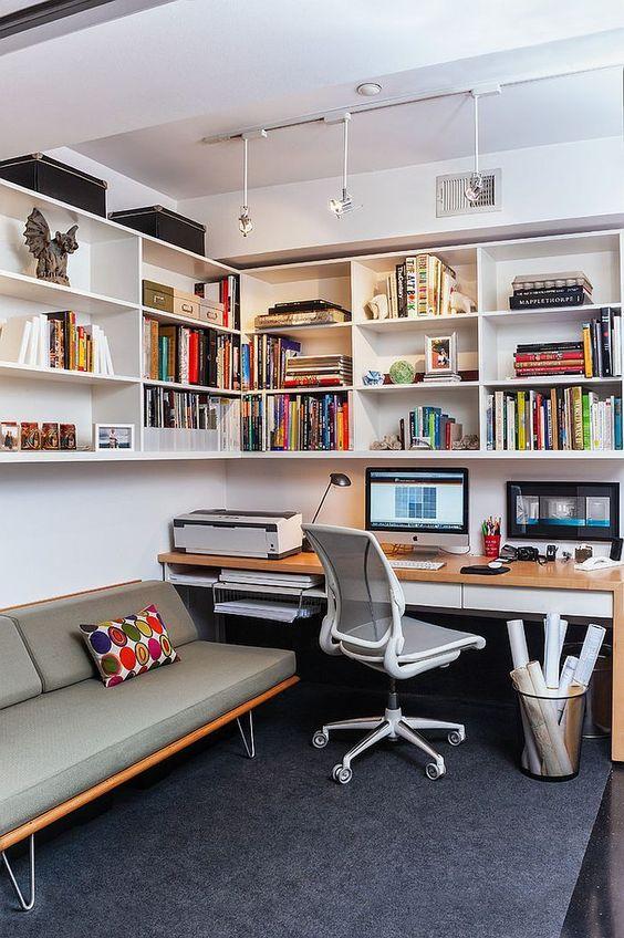 Werkplek en logeerkamer combineren