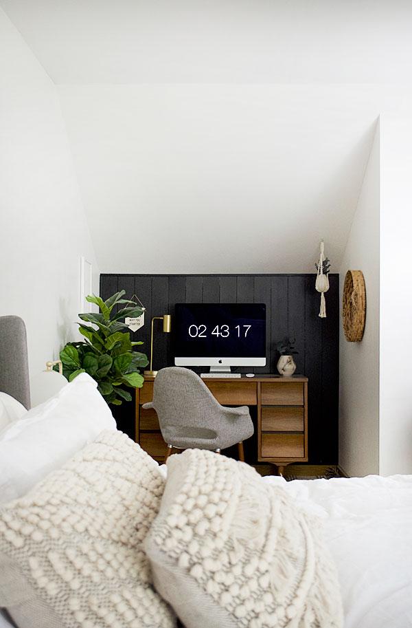 werkplek slaapkamer inspiratie