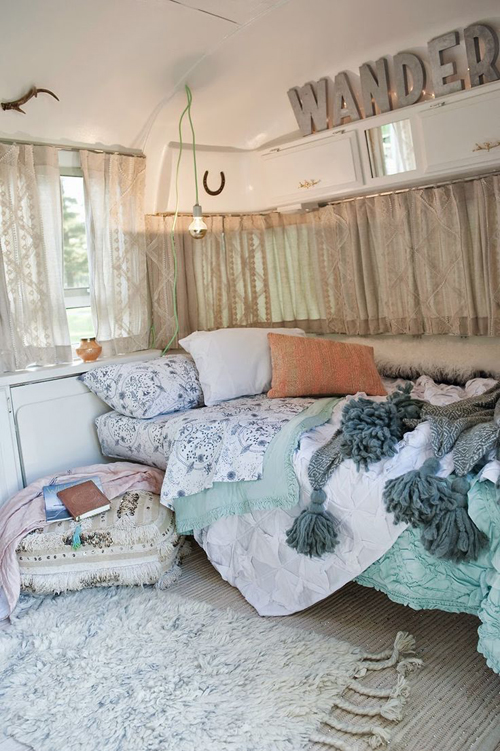 Winterse slaapkamers