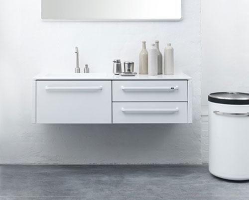 Witte badkamermeubel