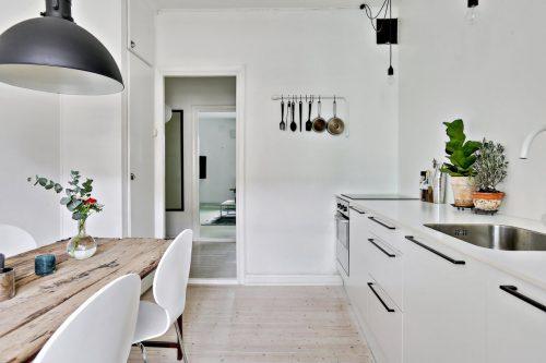 Witte Scandinavische Keuken Huis Inrichten Com