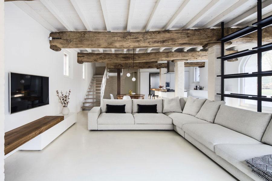 woonkamer ideeën grote loungebank