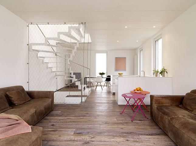 woonkamer ideeën netten trapbalustrade