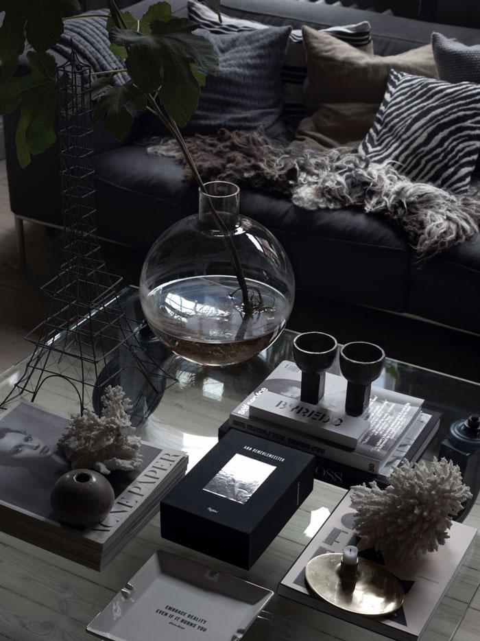 woonkamer ideeen salontafel decoratie