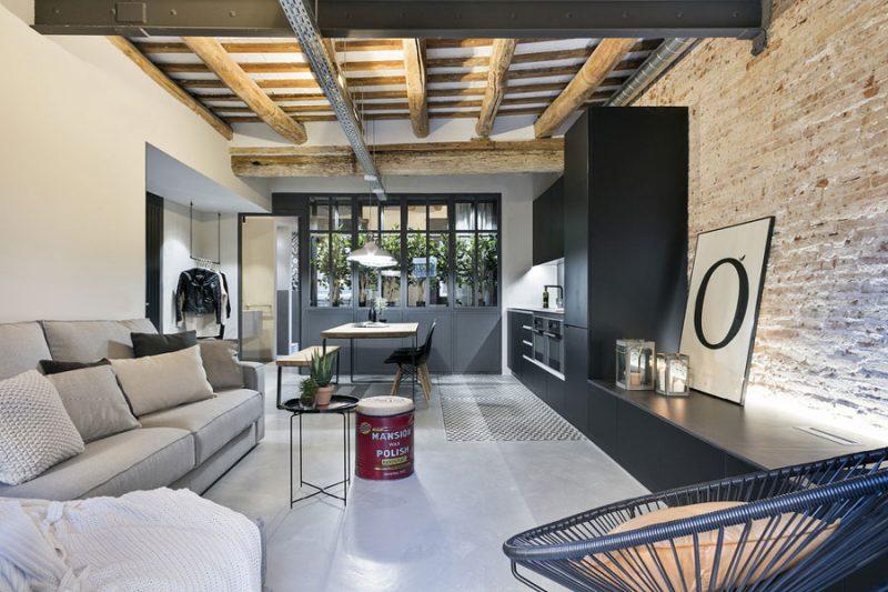 woonkamer ideeen tv meubel aan keuken