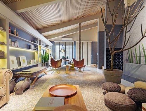 Woonkamer inspiratie door Braziliaanse interieur ontwerpster