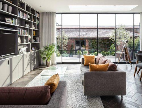Deze woonkamer heeft een inspirerende uitbouw gekregen!