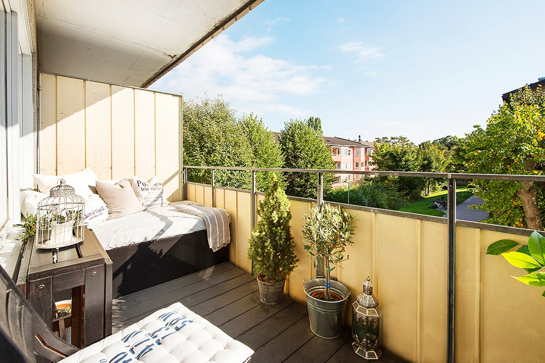 Zo eenvoudig kan het inrichten van een leuk balkon zijn!