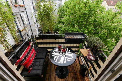 Zo richt je een super klein balkon in van minder van 2m2! huis