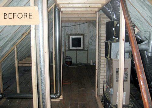 Zolderverbouwing naar droomslaapkamer