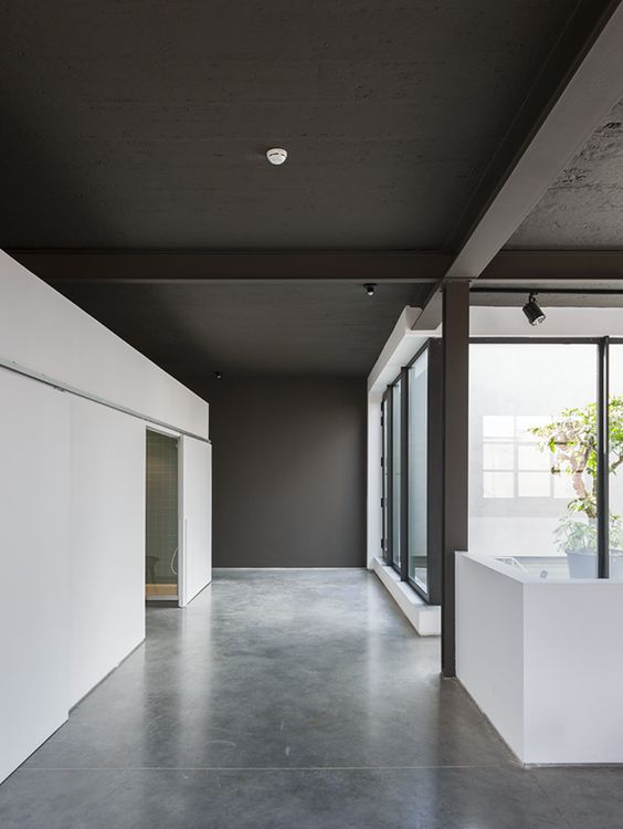 Zwart plafond