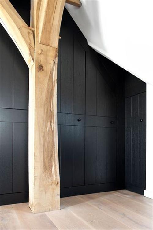 Zwarte Slaapkamer Kast.Zwarte Dichte Kasten Huis Inrichten Com