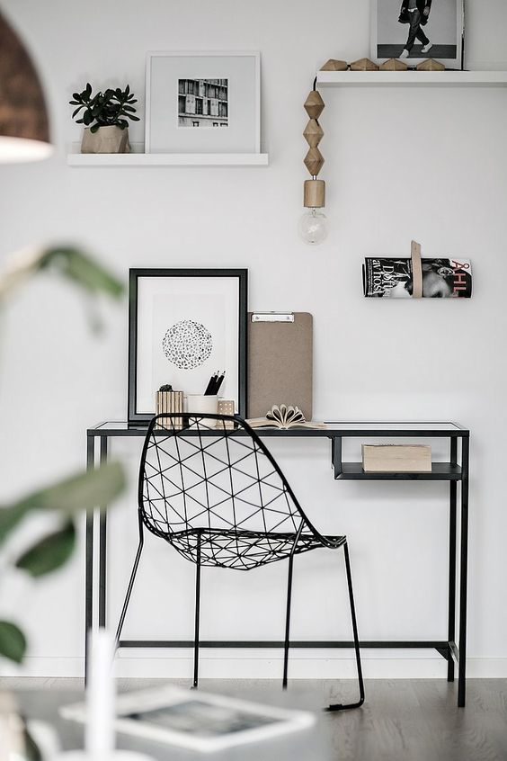 zwarte-draadstoel-bureaustoel