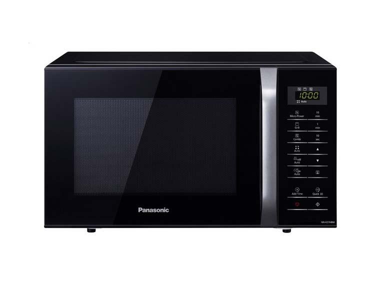 zwarte microgolfoven Panasonic Microgolfoven NN-K37HBMEPG zwart