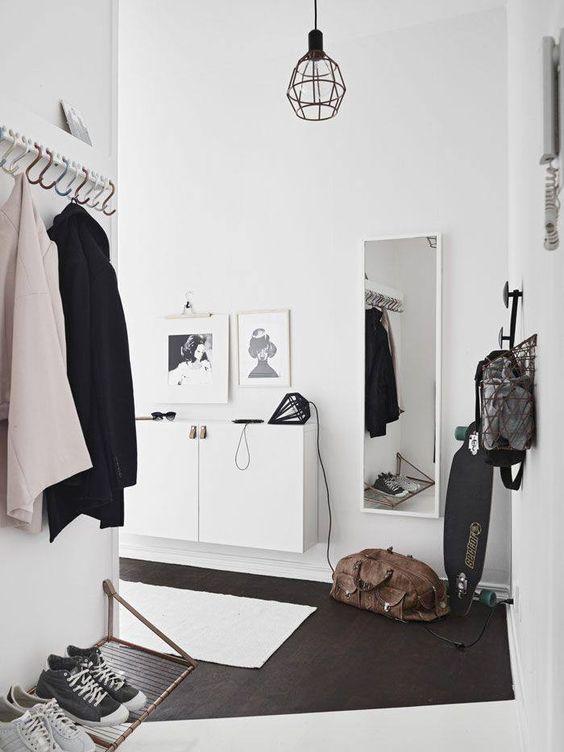 Zwevende schoenenkast IKEA Besta